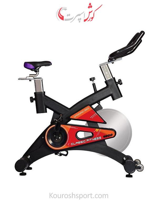 دوچرخه ثابت اسپینینگ باشگاهی با تحمل وزن بالا