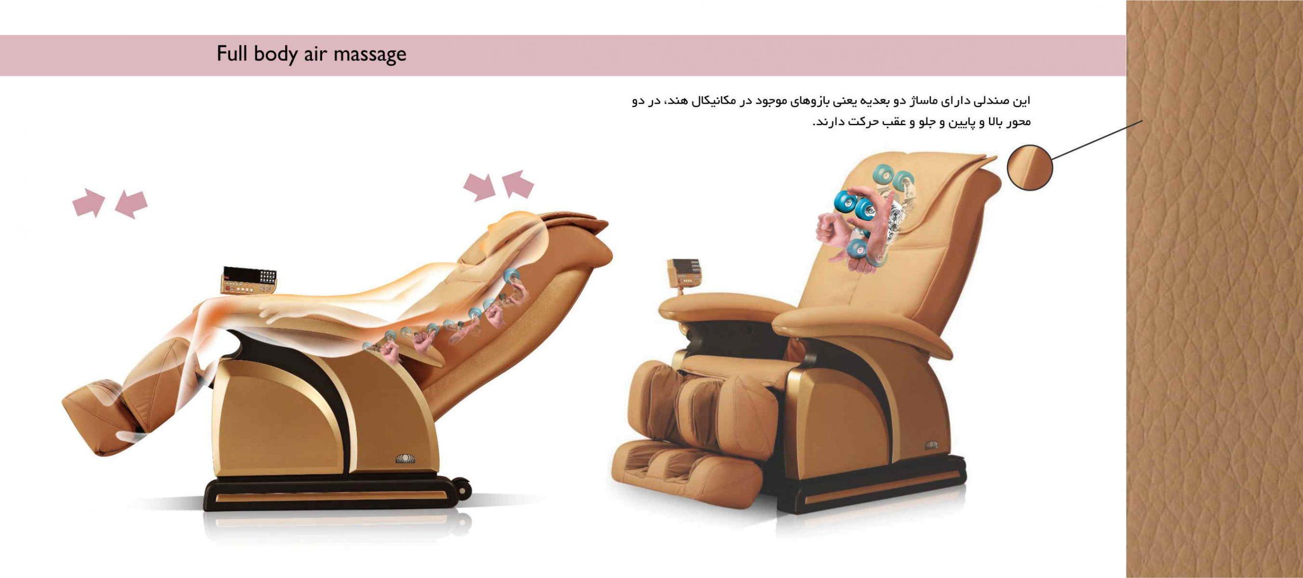 امکانات صندلی ماساژور آی رست iRest A30-6