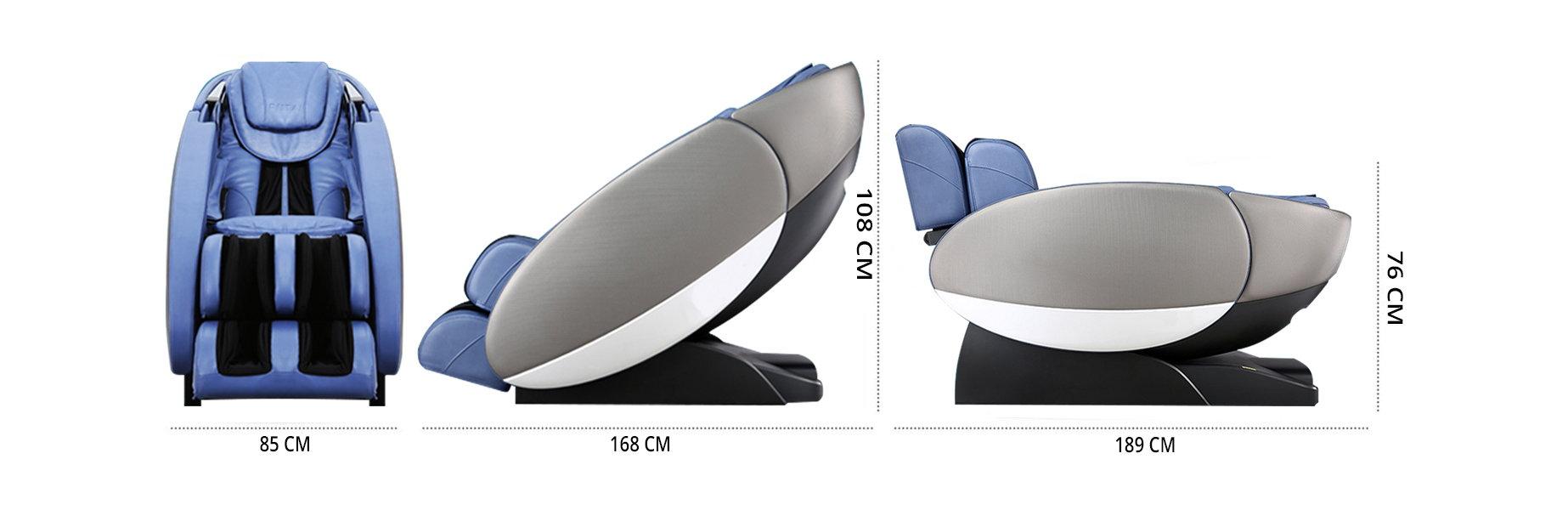 ابعاد صندلی ماساژور آرونت RT-7710