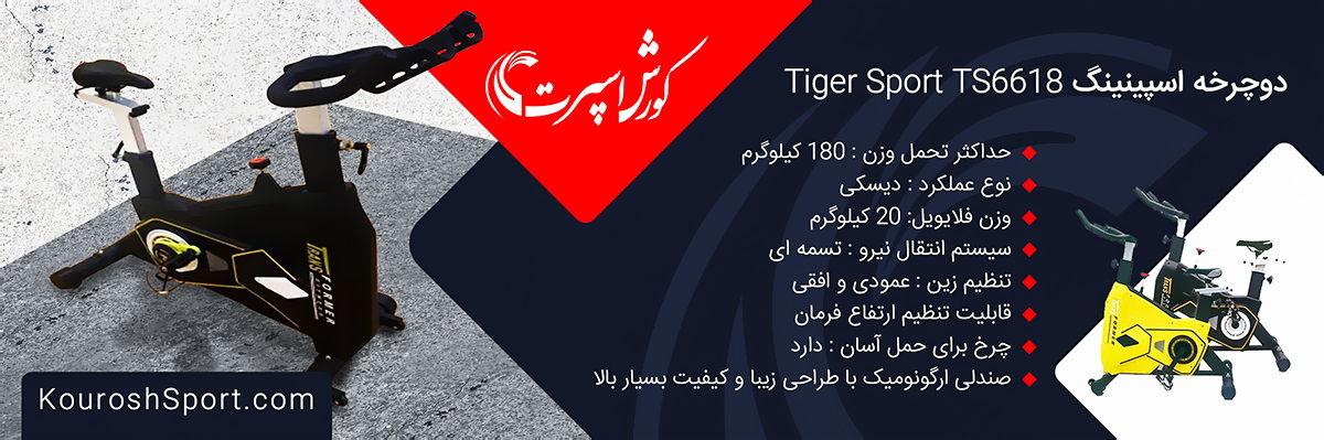 وارد کننده دوچرخه اسپینینگ تایگر اسپرت Tiger Sport TS6618