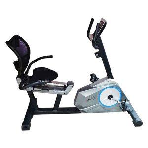 دوچرخه ثابت ای ام اچ 6001R نشسته پشتی دار