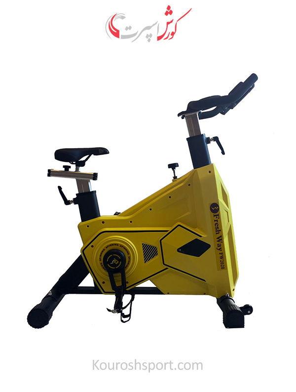 گارانتی معتبر دوچرخه ثابت اسپینینگ فرش وی FW 2020