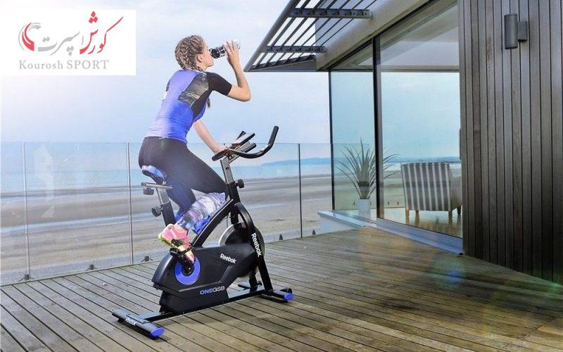 دوچرخه ثابت لازمه هر خانه است