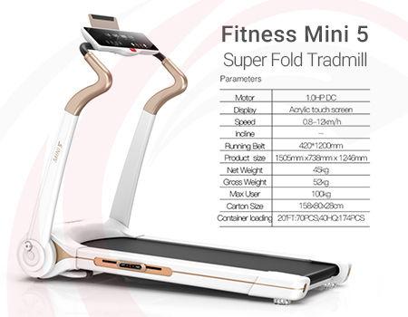 تردمیل سوپر تاشو Fitness Mini 5