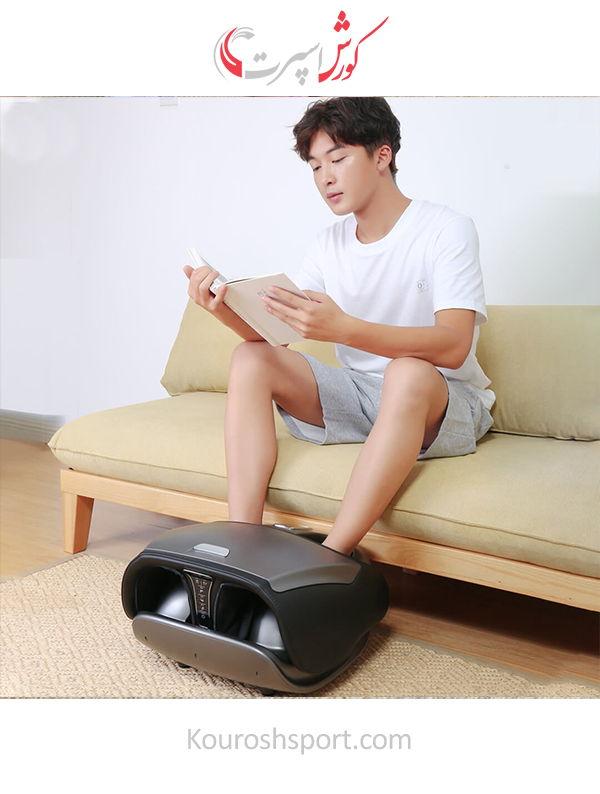 دستگاه پدیکور بهترین گارانتی ماساژور پا شیائومی Xiaomi RP-3600X | ماساژور پا Repor Leg Massager Calf Foot